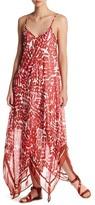 Taylor Print Chiffon Maxi Dress