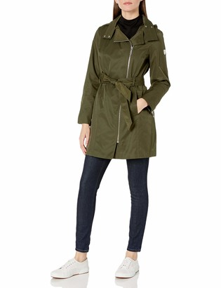 Vince Camuto Women's Double-Breasted Softshell Jacket