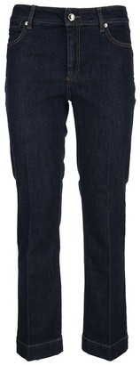 Max Mara Sportmax Flared 5-Pocket Jeans Padre Denim Midnightblue