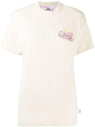 GCDS Care Bears print round neck T-shirt