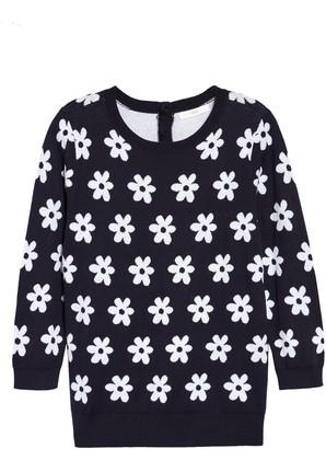 1901 Back Button Crewneck Sweater