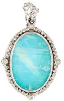 Armenta New World Multistone & Diamond Pendant