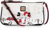 Disney Mouse Cafe Leather Pouchette by Dooney & Bourke