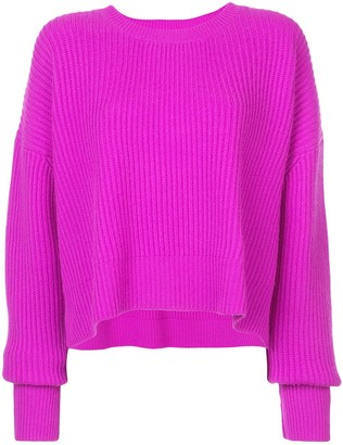 RE/DONE Ribbed Trapeze Sweater