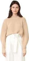 DKNY Extra Long Sleeve Pullover with Back Opening