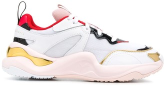 Puma x Charlotte Olympia Rise low-top sneakers