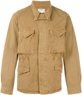 Visvim embroidered lightweight jacket - men - Cotton - 1