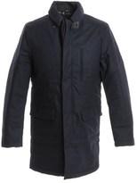 Duvetica Men's Blue Wool Coat.