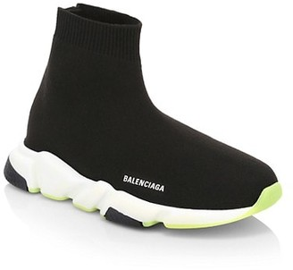 Balenciaga Kid's Fabric Sock Sneakers