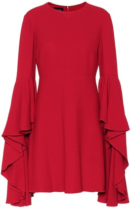 Giambattista Valli Ruffled crepe minidress