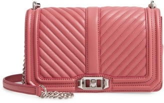 Rebecca Minkoff 'Chevron Quilted Love' Crossbody Bag