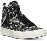 Converse Selene Winter Knit High-Top Casual Sneakers from Finish Line
