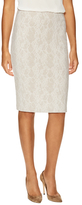 Max Mara Zanzara Lace Pencil Skirt