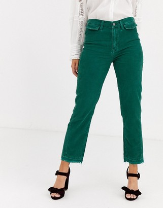 We The Free by Free People Aces high waisted straight leg pant in cord