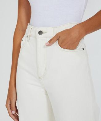 Nobody Lou Jeans Ecru White