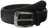 Stacy Adams 32mm Lizard Skin Embossed Leather Men's Belts