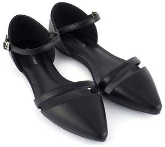 MIO Marino Womens Patti Ankle Strap Flats