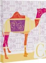 "DENY Designs Jennifer Hill Moroccan Camel Art Canvas, 16"" x 20"""