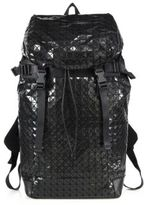Bao Bao Issey Miyake Geometric Paneled Hiker Backpack
