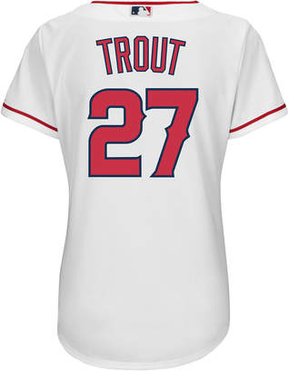 adidas Majestic Women Mike Trout Los Angeles Angels of Anaheim Replica Jersey
