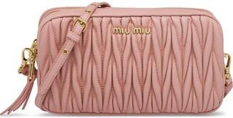 Miu Miu Matelasse Mini Bag