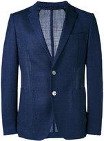 HUGO BOSS fine knit blazer - men - Silk/Polyamide/Cupro/Virgin Wool - 48