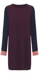 2nd Day Phyllis Dress In Winetiasting 2185130332 - 38
