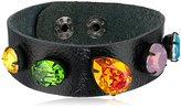 """Liz Palacios Multi-Colored Rainbow Cuff Bracelet, 8"""""""