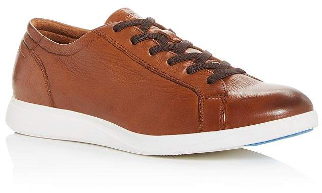 Kenneth Cole Men's Rocketpod Leather Low-Top Sneakers