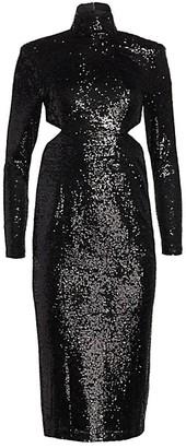 Cinq à Sept Daniela Sequin Midi Dress