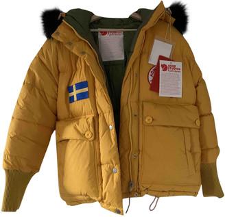 Acne Studios Yellow Faux fur Coats