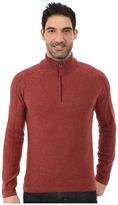Royal Robbins Fireside Wool 1/4 Zip Sweater