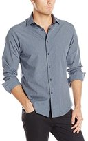Vince Camuto Men's Button-Down Collar Long-Sleeve Shirt