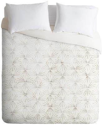 Deny Designs Holli Zollinger Sunburst Light Twin Duvet Set Bedding