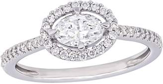 Affinity Diamond Jewelry Affinity 7/10 cttw Diamond Oval Engagement Ring, 14K