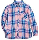 Rails Little Girls' Pastel Plaid Twill Shirt - Sizes 4-12
