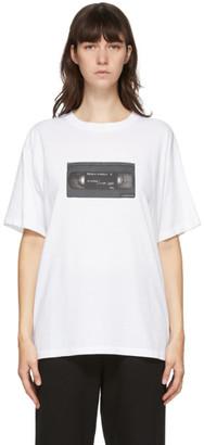 MM6 MAISON MARGIELA White VHS Graphic T-Shirt