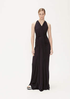 Rick Owens Lilies Sleeveless Gather Gown