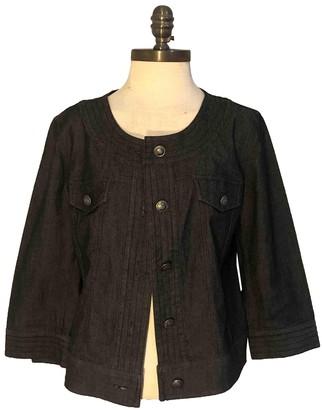 Sandro Grey Cotton Jacket for Women