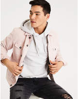 Aeo AE Pink Denim Jacket