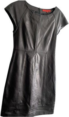 Hallhuber Black Leather Dress for Women
