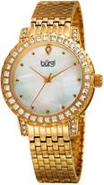 Burgi Women's Brass Watch