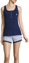 U.S. Polo Assn. Shorts Pajama Set-Juniors