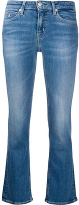Calvin Klein Jeans Mid-Rise Flared Jeans