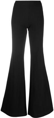 Andrea Ya'aqov Wide Leg Cotton Trousers