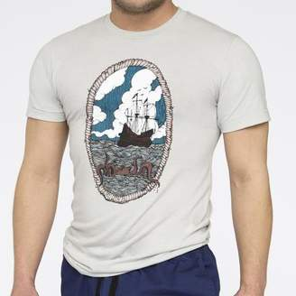 Blade + Blue Nautical Octopus & Ship Multi Color Portrait Tee