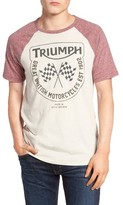 Lucky Brand Men's Triumph Flags Graphic T-Shirt