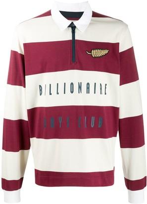 Billionaire Boys Club striped rugby shirt