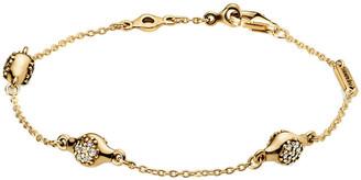 Pandora 18K Shine Modern Lovepods Cz Bracelet