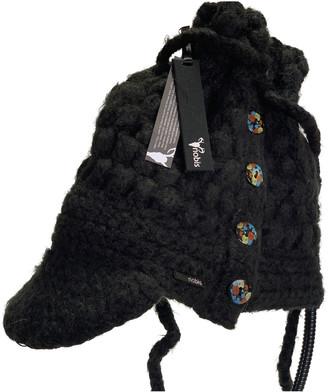 Nobis Black Polyester Hats